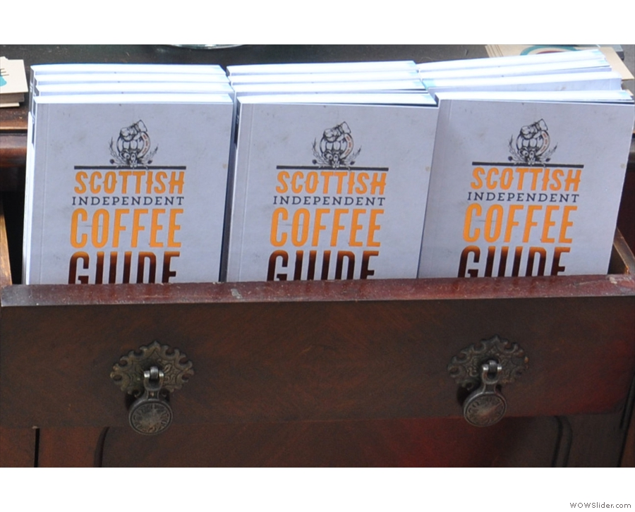 And finally, finally, because it didn't fit in elsewhere, the Scottish Coffee Guide, Vol 2.