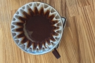 Kalita Wave filters always look weird when seen from above.