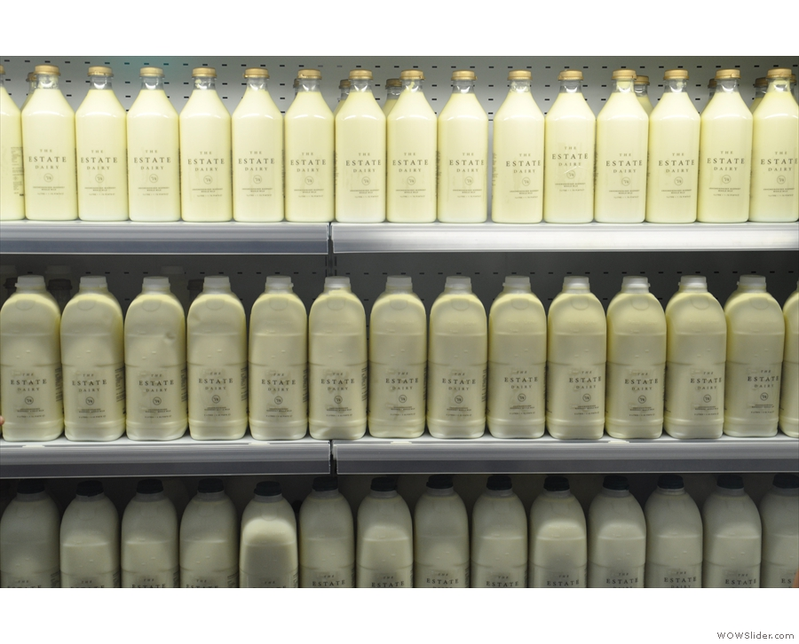 Sadly, with milk suppliers, there's not a lot to photograph except bottles of milk.
