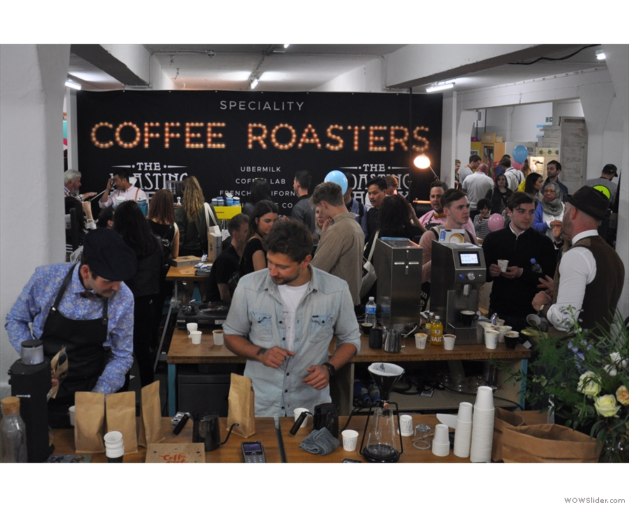 I also called in to see my friends at The Roasting Party stand...