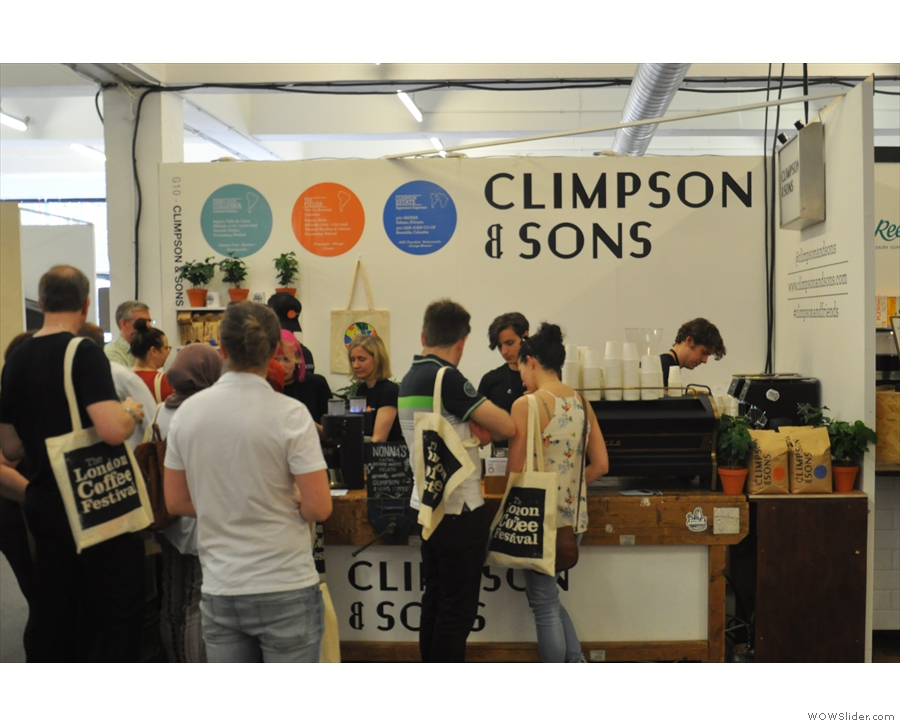 However, it wasn't all espresso. I popped by Climpson & Sons for a filter coffee.