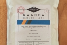 ... although I did manage to grab a bag of this Rwandan coffee.