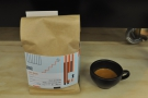 This is Remdemption Roaster's signature 1847 blend, a lovely espresso.