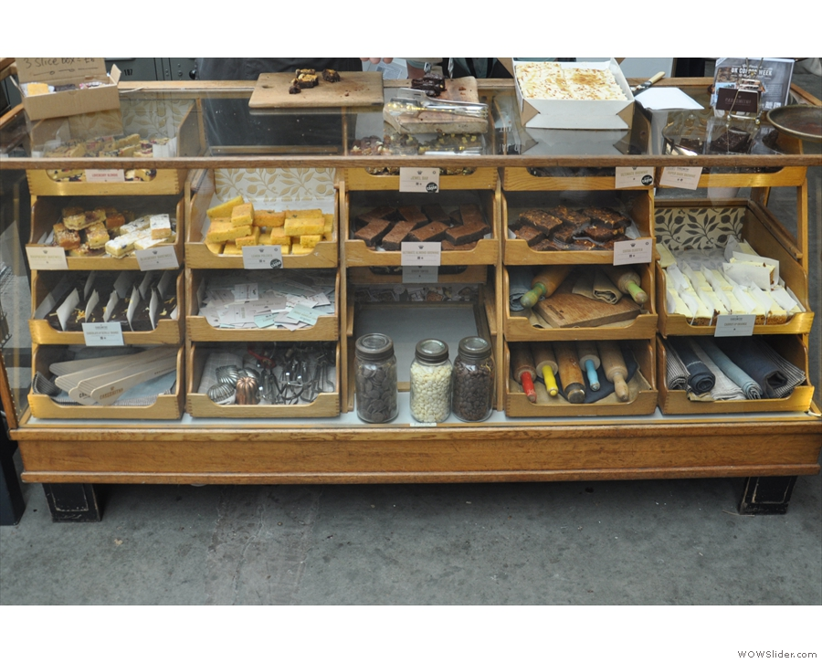 Talking of which, look at all that cake! And such a beautiful display case, as always.