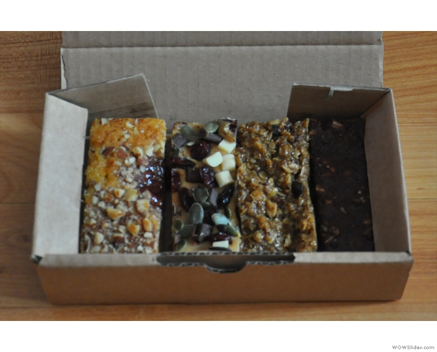 ... or, if you're lucky, Cakesmiths will just give you a box of cake to take home.