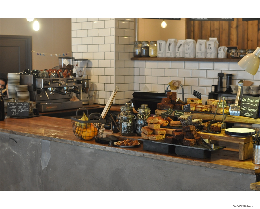 Another view of the counter