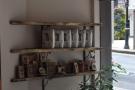 Caravan Coffee on the middle shelf. We'll ignore the bottom shelf, shall we?