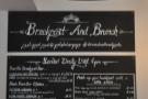 Okay, Yorks is serious about breakfast - this greets you on stepping through the door!