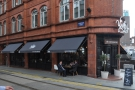 ... and from the other side on Stephenson Street.