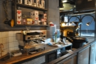 ... while along the back wall is a training lab and space for Yorks' roaster...