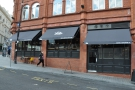 The flagship Yorks Café & Coffee Roasters, as seen from Pinfold Street...