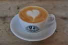 I started my day with a flat white, made with the Friday Street Espresso blend...