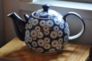 There are other teapots around upstairs. This one is my favourite.