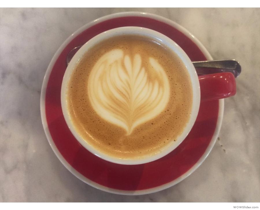 Impressive latte art...