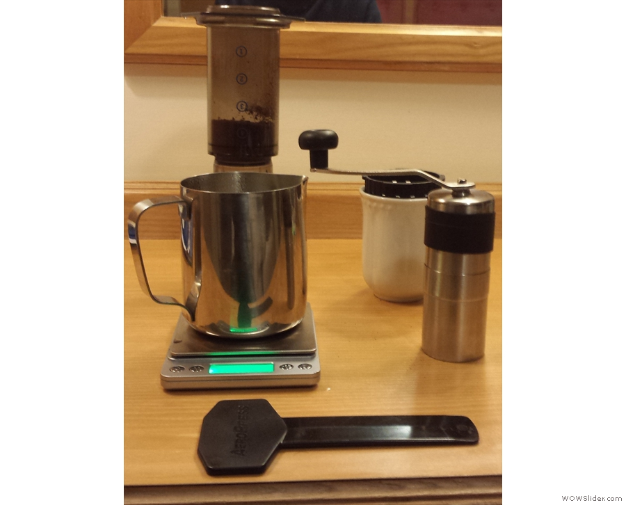 That trip was also saw early attemps to make my own coffee in hotel rooms.