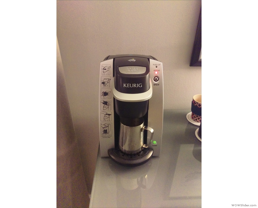 However, when I got to Miami, I did discover that Keurig machines have their uses!