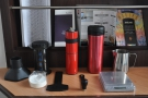 By now I was travelling with both Aeropress & Travel Press, plus my Knock feldfarb.