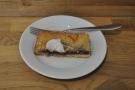 ... a Mormora single-origin espresso from Square Mile, paired with a jam frangipane.