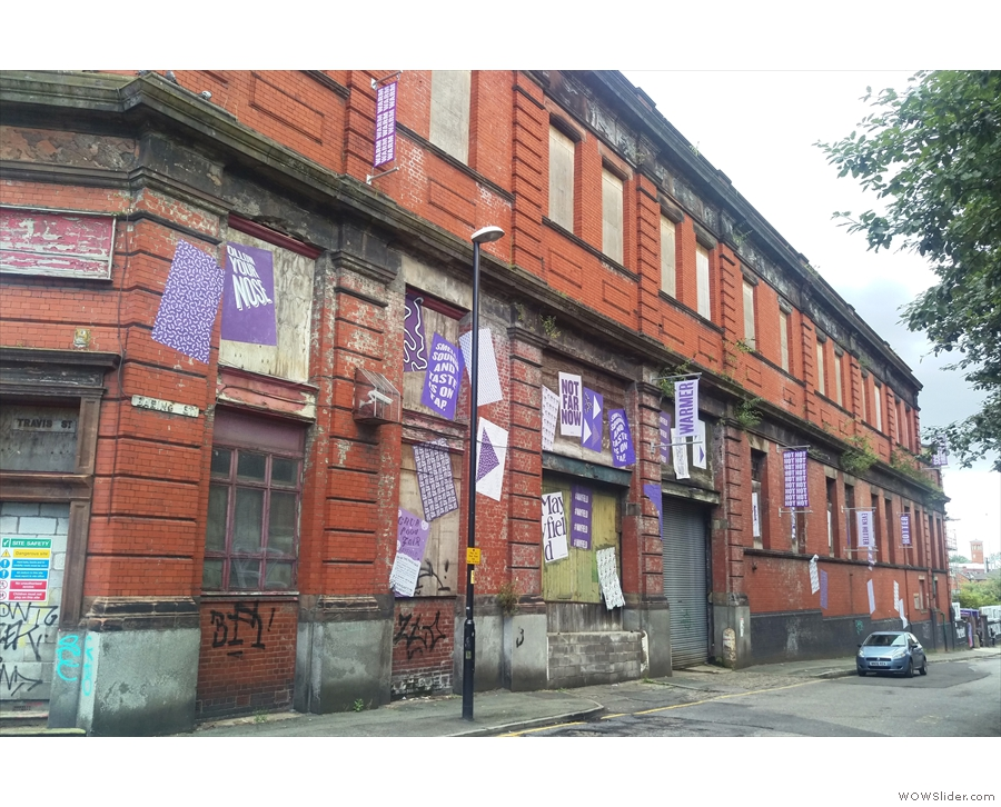 ... and down the side of Mayfield Station, along Baring Street, you'll find...