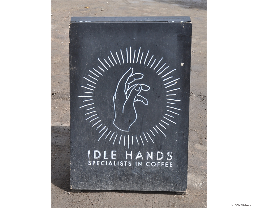 Yes, it's old friends, Idle Hands, back with a new pop-up!