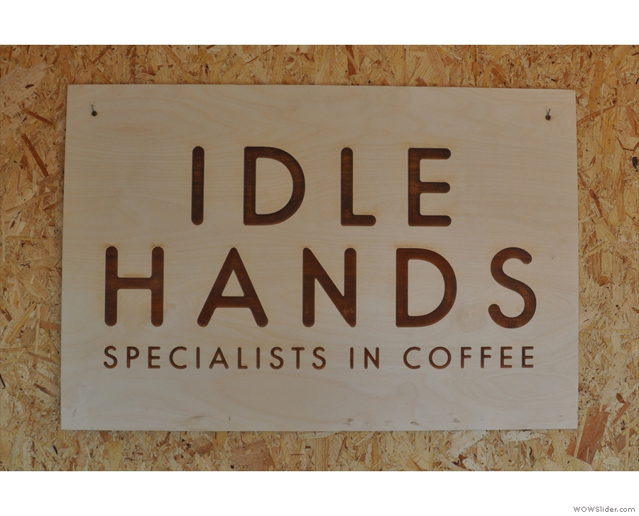 In any other hands, I might dismiss 'specialists in coffee' as an idle boast, but not here.