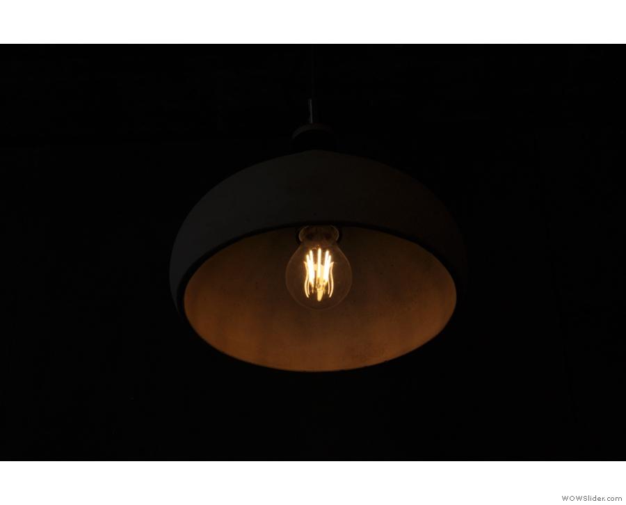More light-fittings...