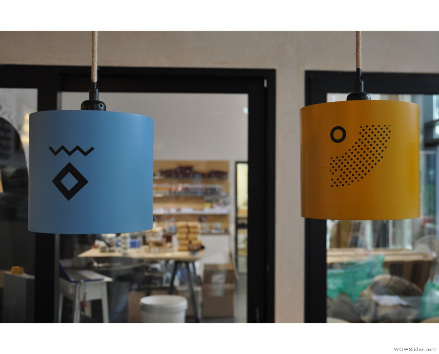 ... as well as some neat lamp-shades.