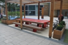 ... lots of outdoor seating, although it's communal so North Star can't offer table service.