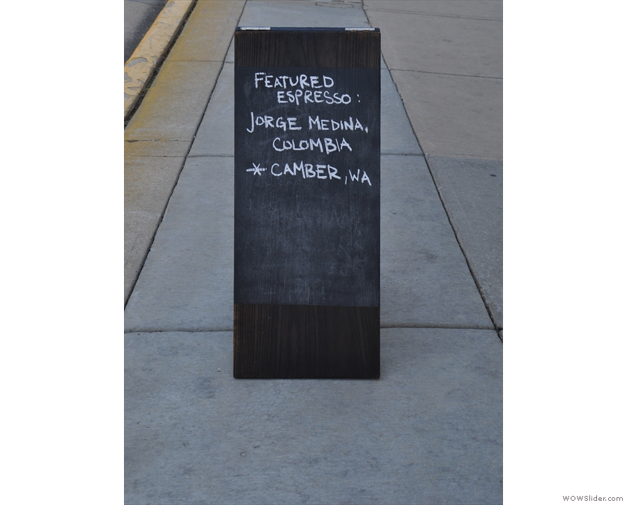 The A-board doesn't mess around.