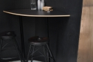 ... and this one to the right. Both have two stools...