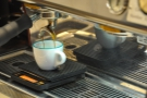 I popped back in the afternoon to try the espresso (The Sermon blend from Verve).