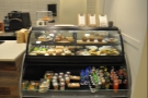 ... as well as a range of breakfast & lunch time goodies, plus cakes, in the chiller cabinet.