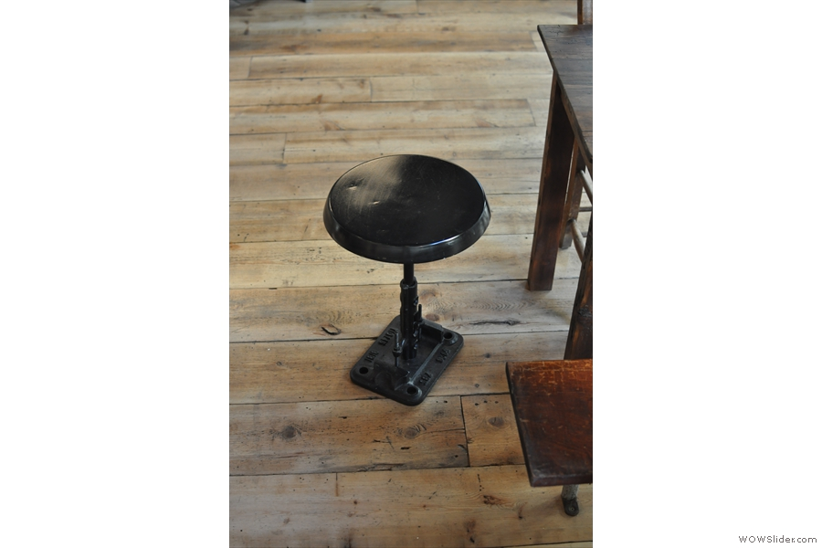 There are also a number of neat stools dotted around the place.