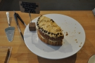 I also had a slice of the excellent coffee cake (a slice, I stress, not half the cake!).