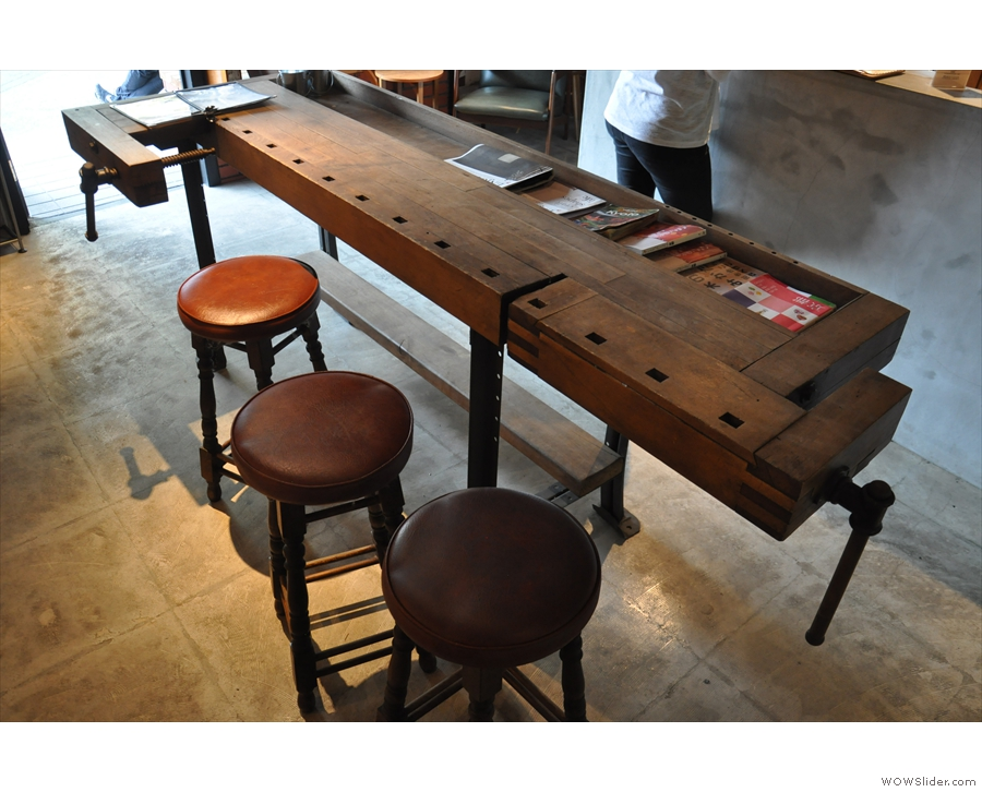 You can make coffee tables out of almost everything...