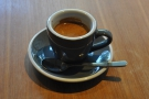 I had a shot of the house-blend, roasted by Weekenders Coffee, served in a classic cup.