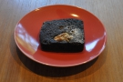 Finally, an awesome chocolate brownie. The perfect end to my last day in Kyoto!