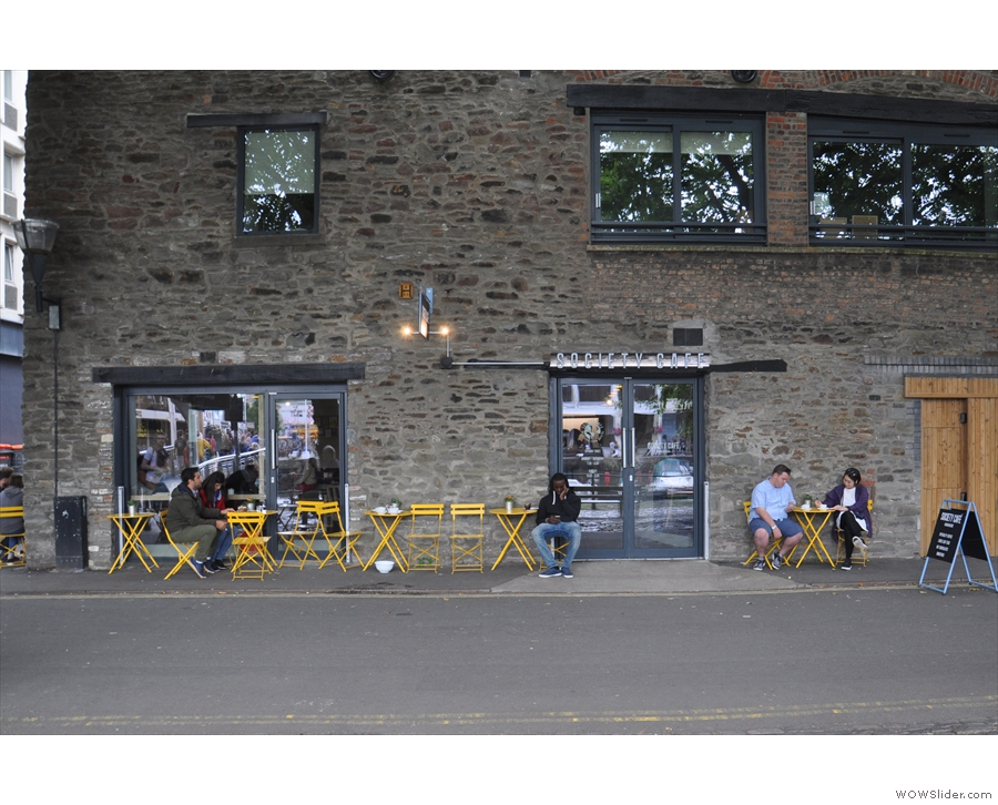 ... a new branch of Bath's Society Cafe, located in this splendid old building.