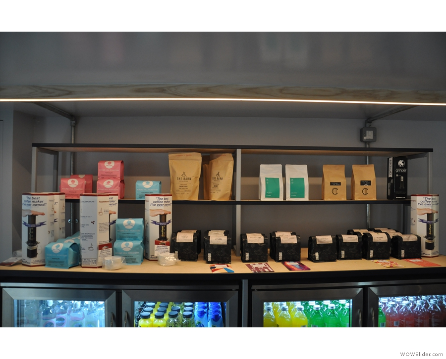 There is a variety of coffee to be had, from a range of roasters.