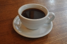 I started off with a cafetiere of the Honduras Los Pinos single-origin...