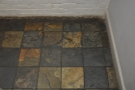 The floor downstairs, by the way, has kept its original tiling which I adore.
