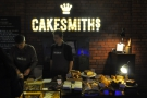 As well as street food, the festival's well-endowed with cake from my friends at Cakesmiths.