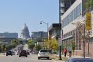 ... where, off in the distance, you'll see Madison's magnificent Capitol Building.