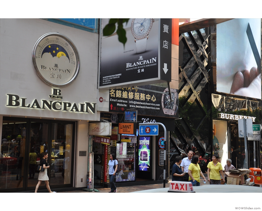 On a busy street in Hong Kong's Causeway Bay a coffee shop hides in plain sight.