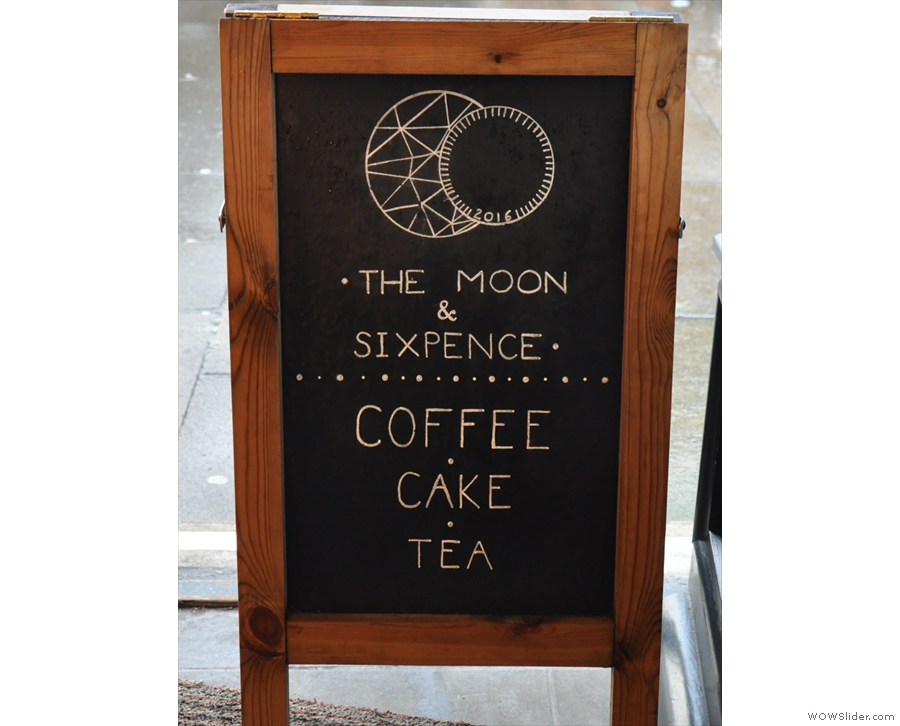 It's The Moon & Sixpence, Cumbria's latest speciality coffee shop.
