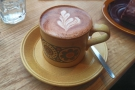 This Kokoa Collection hot chocolate, for example, came in a lovely mug...
