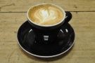 I decided to have a flat white...