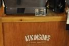... there was a La Marzocco espresso machine (I still pine for the old Faema E61).