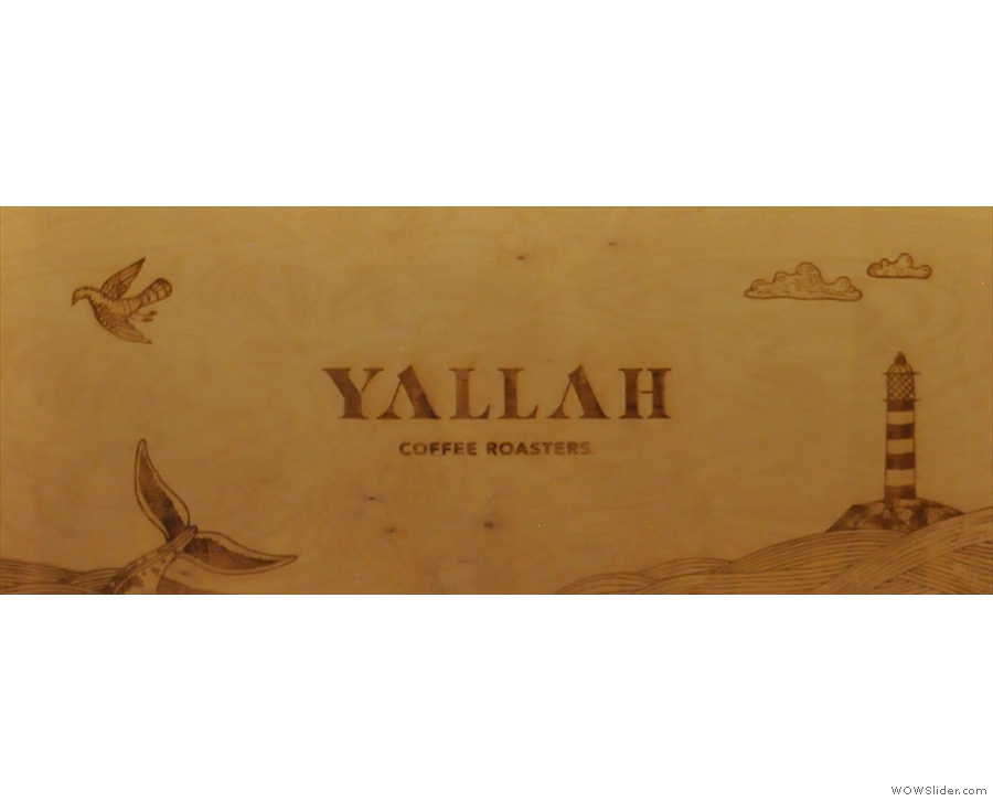 Yallah is another company with an excellent logo.