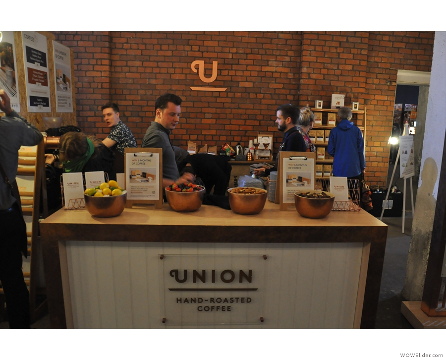 Then it was time to say hello to Union...